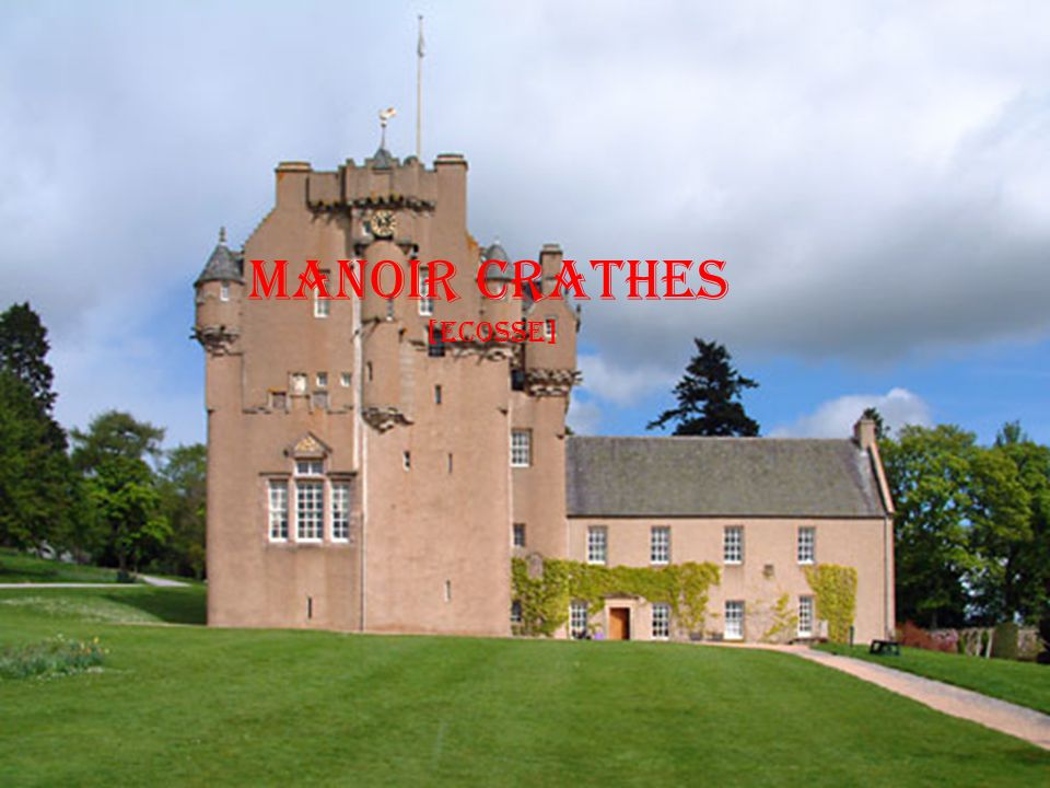 Manoir Crathes [ecosse]